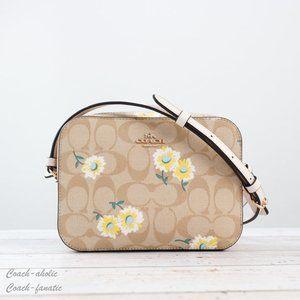 NWT Coach Mini Camera Bag with Daisy Print